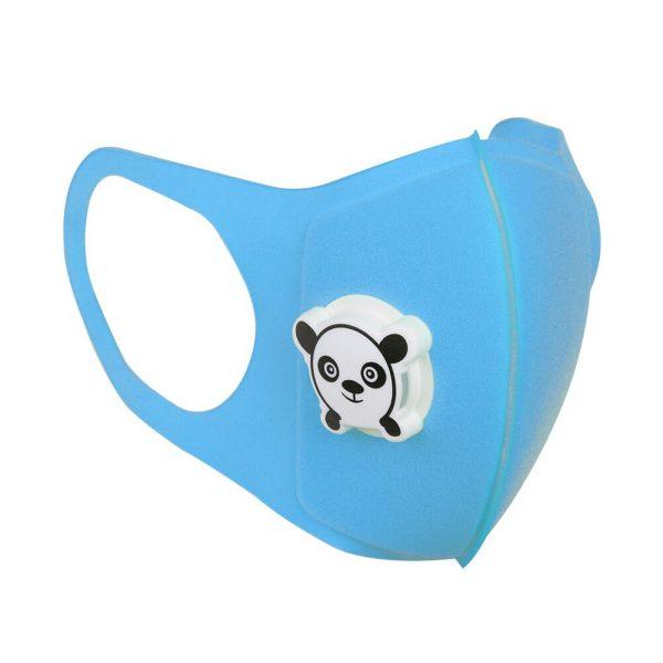 blue washable pupil face mask