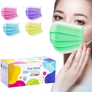colored 3ply disposable face mask price in Nigeria