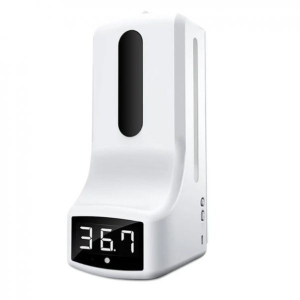 k9 Wall Mounted Thermometer Soap Dispenser