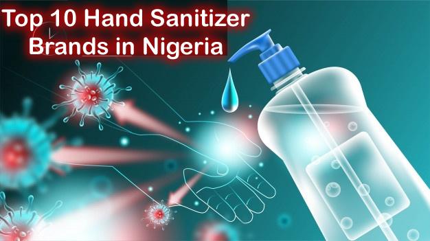 best hand sanitizer brands in nigeria