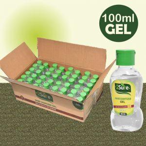100ml gel 2Sure hand Sanitizer