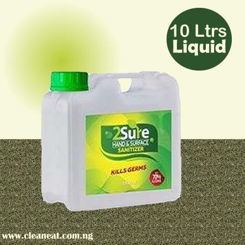 10Litres 2Sure Sanitizer Liquid