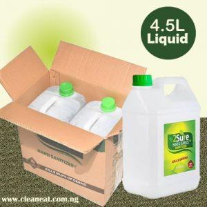 4.5L 2Sure Sanitizer Liquid