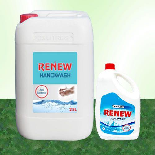 RENEW-Handwash-25L and 4L