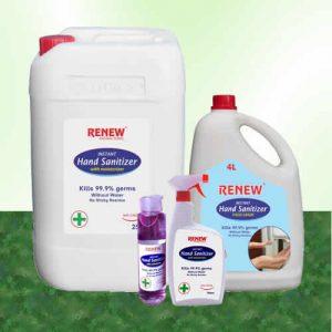 renew hand sanitizer price