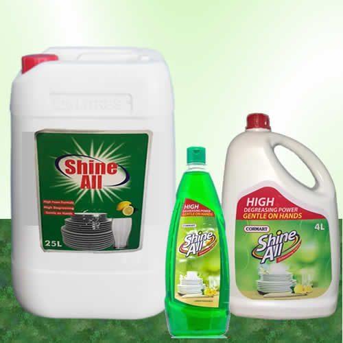 shine all dishwash 1Liter 4L 25 L