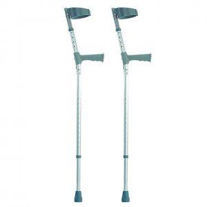elbow adjustable crutches