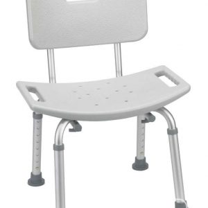 shower bath bench chair with back rest