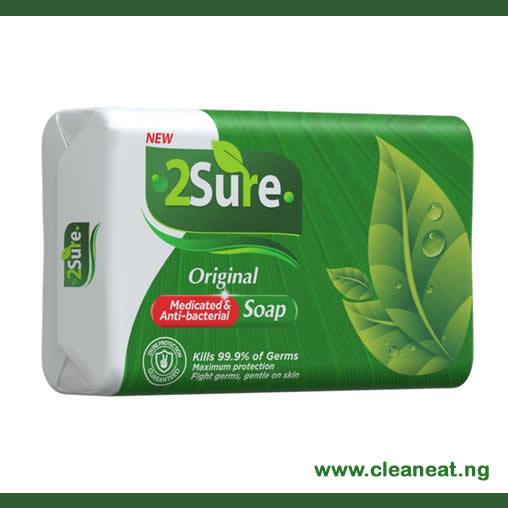 2Sure Original Medicated and Anti-bacterial Soap