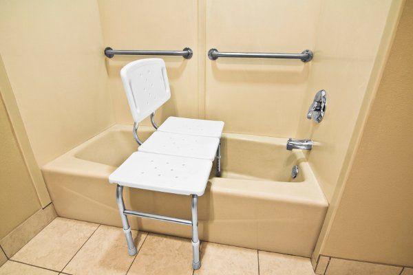 bath shower bench